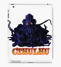 CTHULHU BLUE HP LOVECRAFT iPad Case/Skin