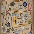 vintage tools & utensils by Val Goretsky