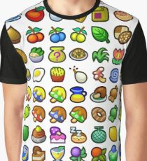 Paper Mario - All Recipes & Ingredients Graphic T-Shirt