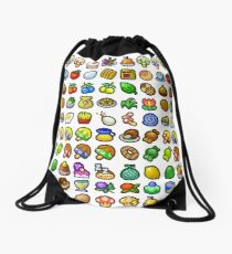 Paper Mario - All Recipes & Ingredients Drawstring Bag