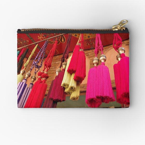 Tassels, Marrakech Zipper Pouch