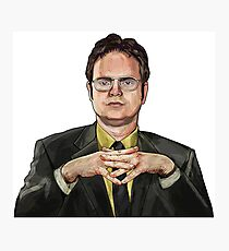 Dwight Schrute Digital Photographic Print