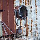 Vintage Searchlight Remains   East Marion, New York by © Sophie W. Smith
