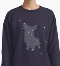 Corgi Constellation Lightweight Sweatshirt