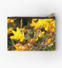 Yellow Springtime Wildflowers Studio Pouch