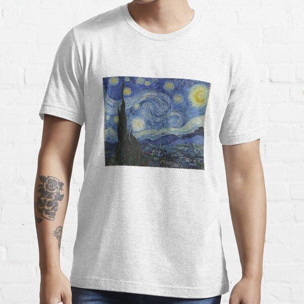 Starry Night (Vincent van Gogh) Essential T-Shirt