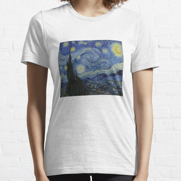 Starry Night (Vincent van Gogh) Essential T-Shirt