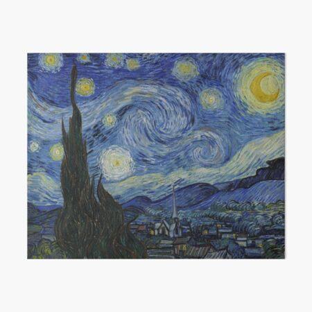 Starry Night (Vincent van Gogh) Art Board Print