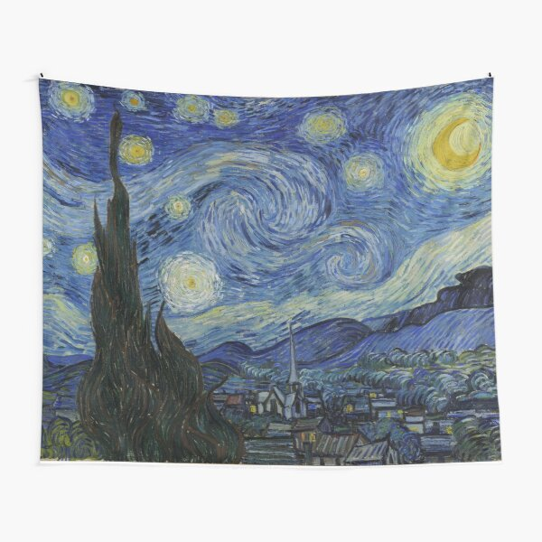 Starry Night (Vincent van Gogh) Tapestry