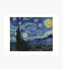 Sternennacht (Vincent van Gogh) Kunstdruck