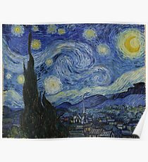 Starry Night (Vincent van Gogh) Poster