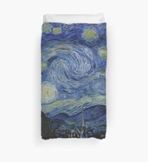 Starry Night (Vincent van Gogh) Duvet Cover