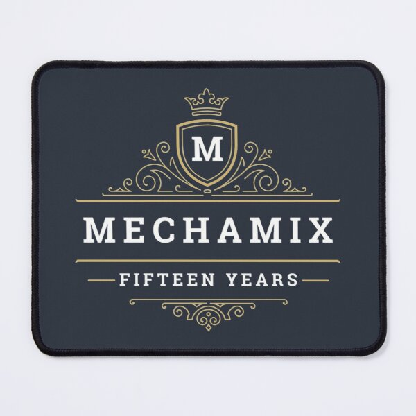 MECHAMIX FIFTEEN YEARS ORNATE Mouse Pad