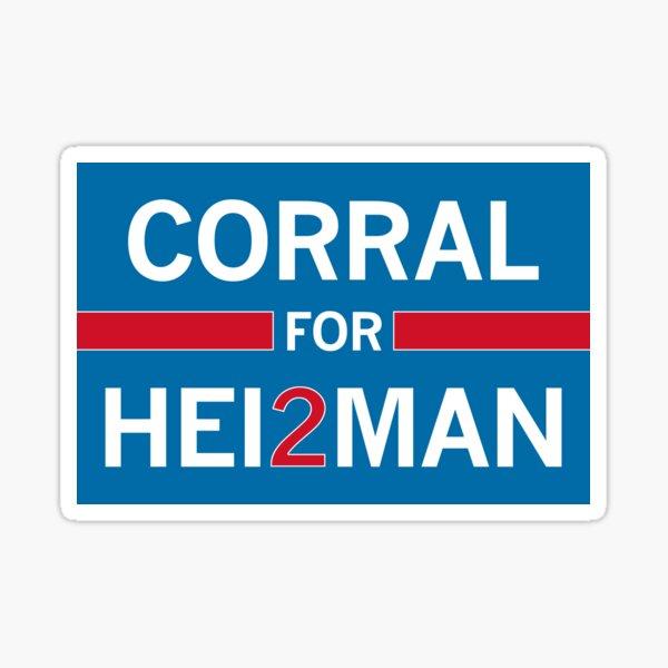 Matt Corral for Heisman Sticker