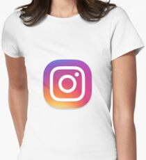 Instagram Women's Fitted T-Shirt