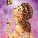 Beautiful Butterfly Girl by HAJRA MEEKS