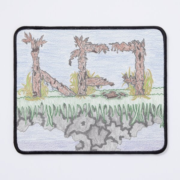 M.I. #10  ☽  Rural decadence. Mouse Pad