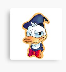 donald duck Canvas Print