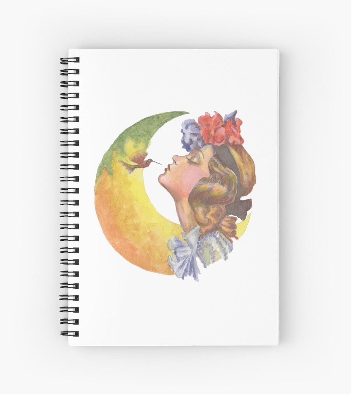 Beautiful Girl with Hummingbird by Hajra Meeks