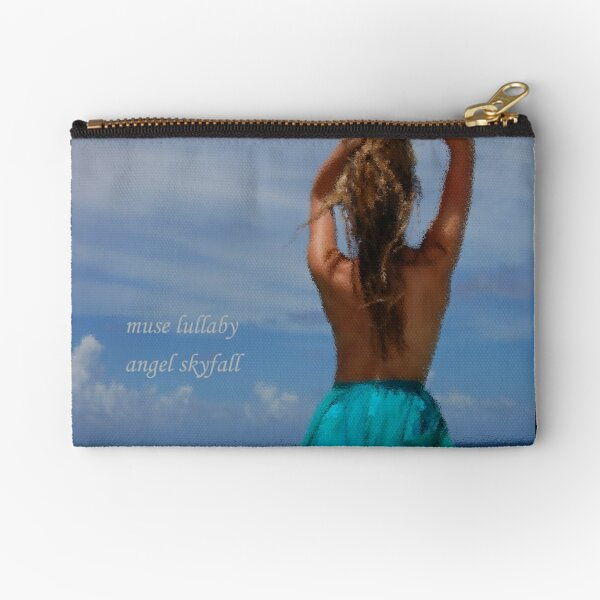 Muse Lullaby - Photo Art and Poetry Zipper Pouch