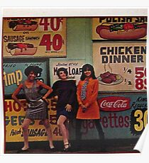Greasy Spoon Mod Girls Poster