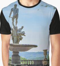 Oceanus Fountain - Kykuit Rockefeller Estate | Sleepy Hollow, New York Graphic T-Shirt