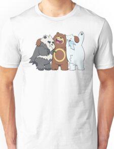 Poke Bare Bears Unisex T-Shirt