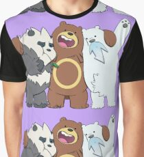 Poke Bare Bears Graphic T-Shirt