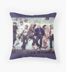 BTS Wings Album - Sleep Throw Pillow