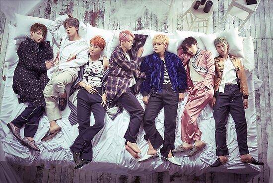 BTS Wings Album - Schlaf von yumi108