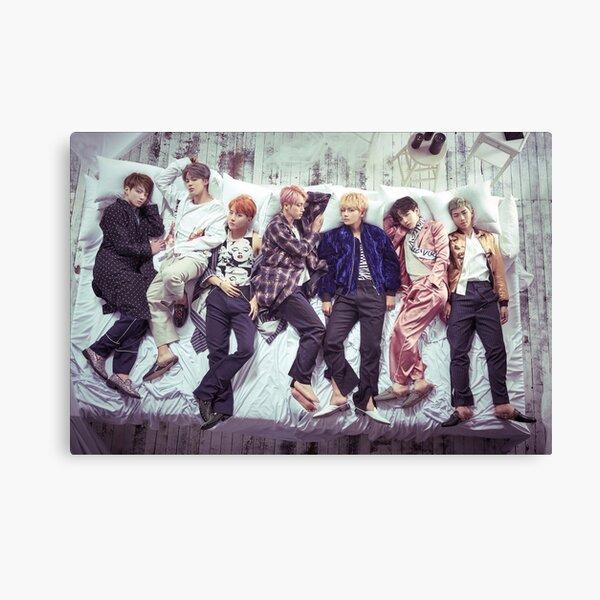 BTS Wings Album - Sleep Canvas Print