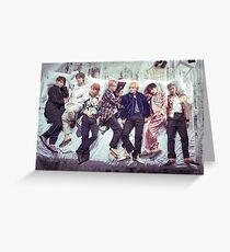 BTS Wings Album - Sleep Greeting Card