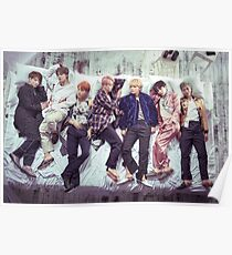 BTS Wings Album - Schlaf Poster