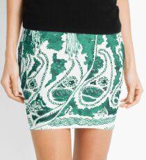 Enchantress in Emerald Ink Mini Skirt