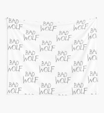 Bad Wolf Wall Tapestry