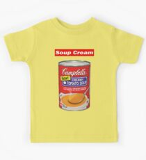 "Supreme ""Soup Cream"" Kids Tee"
