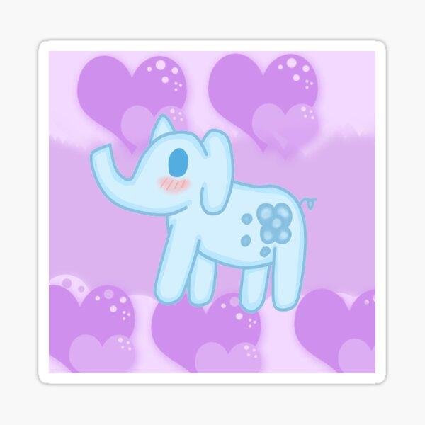 Dreamy Elephant  Sticker