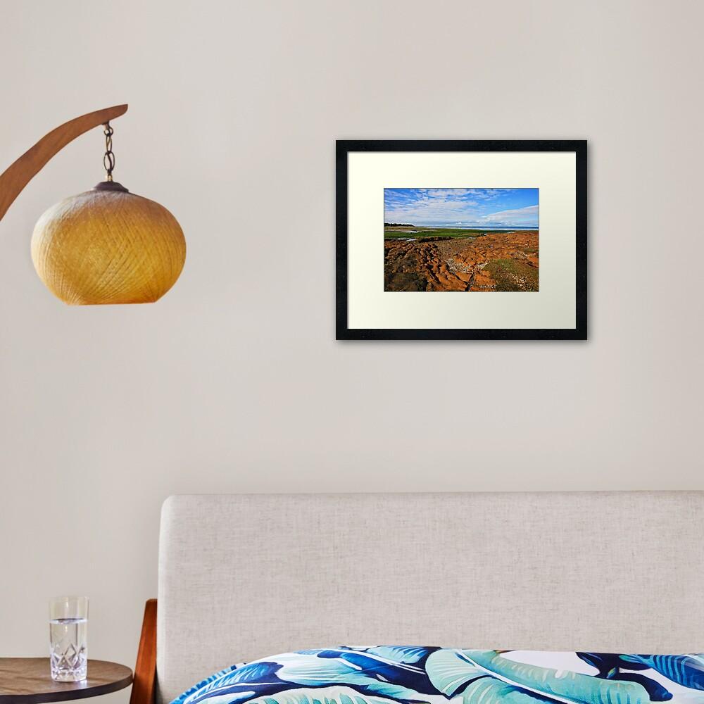 Low Tide Rickett's Point ll Framed Art Print