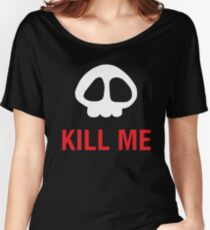Skull Of Anime Can Kill Me Women's Relaxed Fit T-Shirt
