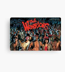 The Warriors Tribute 2 Canvas Print
