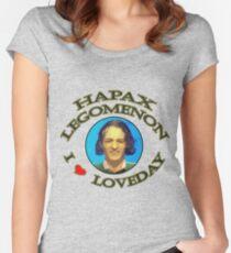 UC Heroes - Hapax legomenon #2 Women's Fitted Scoop T-Shirt