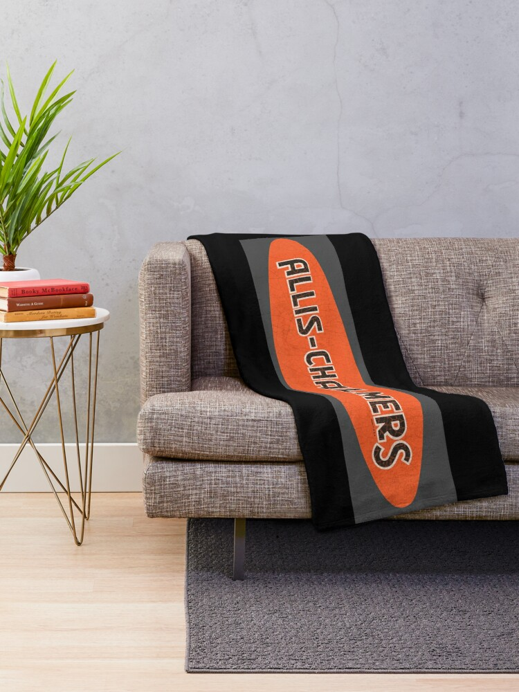 Alternate view of Allis Chalmers usa TRACTORS Throw Blanket