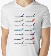 Airbus A380 Operators Illustration T-Shirt