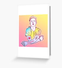 Charlie Puth Dangerously Greeting Card
