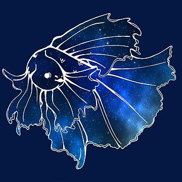 Galaxy Fish 2 by AnibyDesign