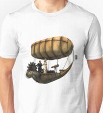 Steampunk Airship Unisex T-Shirt
