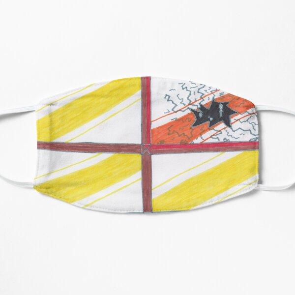 M.I. #20 |☽| Wrecked Window - Pane Pain Flat Mask