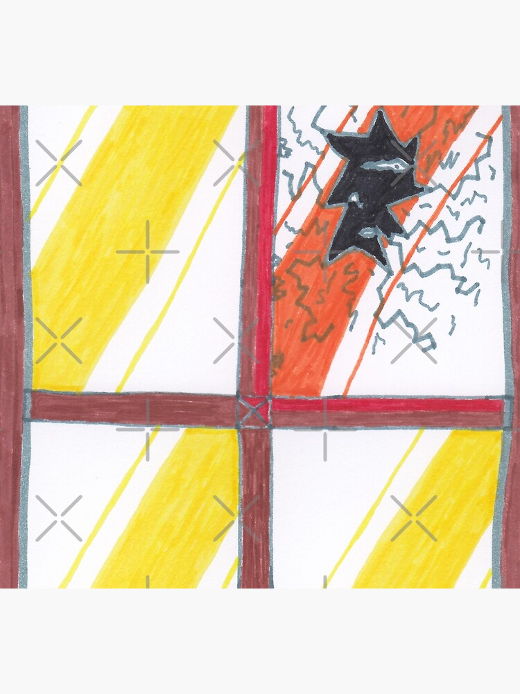 M.I. #20 |☽| Wrecked Window - Pane Pain by Naean
