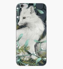 Arctic Fox Holiday Portrait iPhone Case