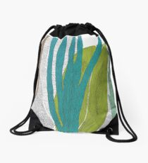Colorful leaves forest Drawstring Bag